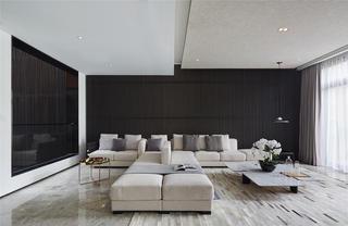 现代风格别墅装修效果图