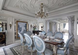 法式古典别墅餐厅装修效果图