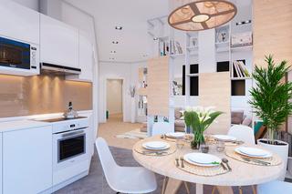 小户型简约风格公寓装修效果图