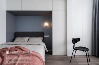 60㎡北欧风公寓卧室装修效果图