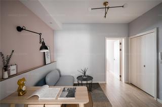 54平米一居室装修效果图