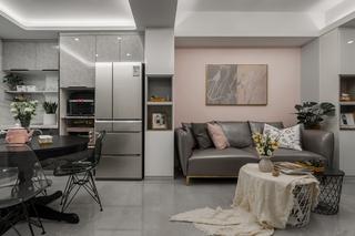 70平米二居室装修效果图