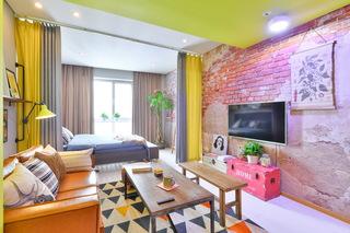 小户型两居室装修效果图