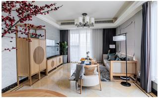 新中式三居装修效果图