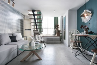 loft混搭公寓装修效果图