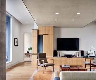 现代公寓装修效果图