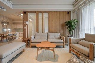 现代日式三居装修效果图