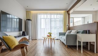 简约北欧三居客厅装修效果图
