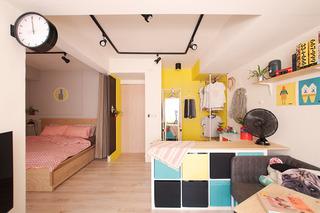33平米小户型卧室装修效果图