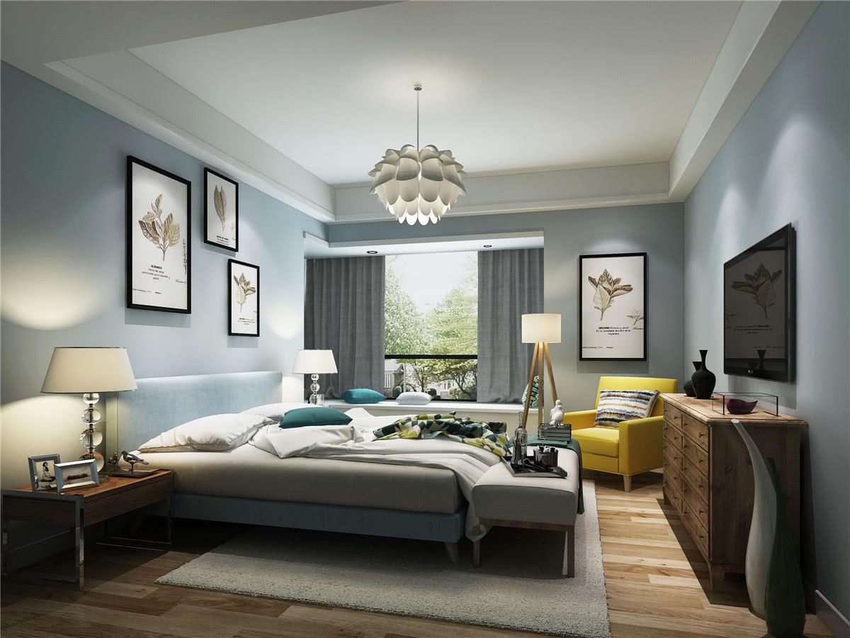 北欧风格四居卧室每日首存送20