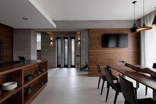 现代风别墅餐厅装修效果图