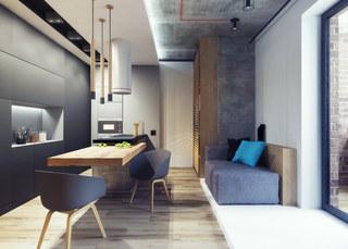 小户型公寓餐厅装修效果图
