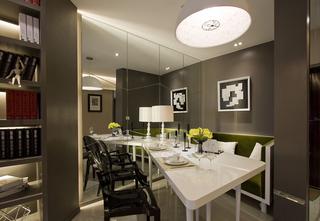 现代简约二居室餐厅每日首存送20