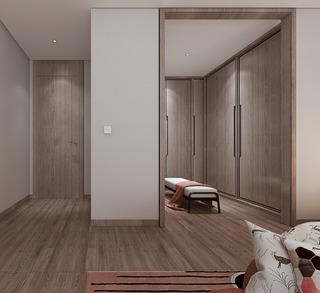 新中式风格别墅衣帽间装修效果图