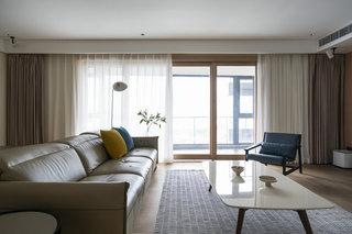 简约现代风三居室装修效果图