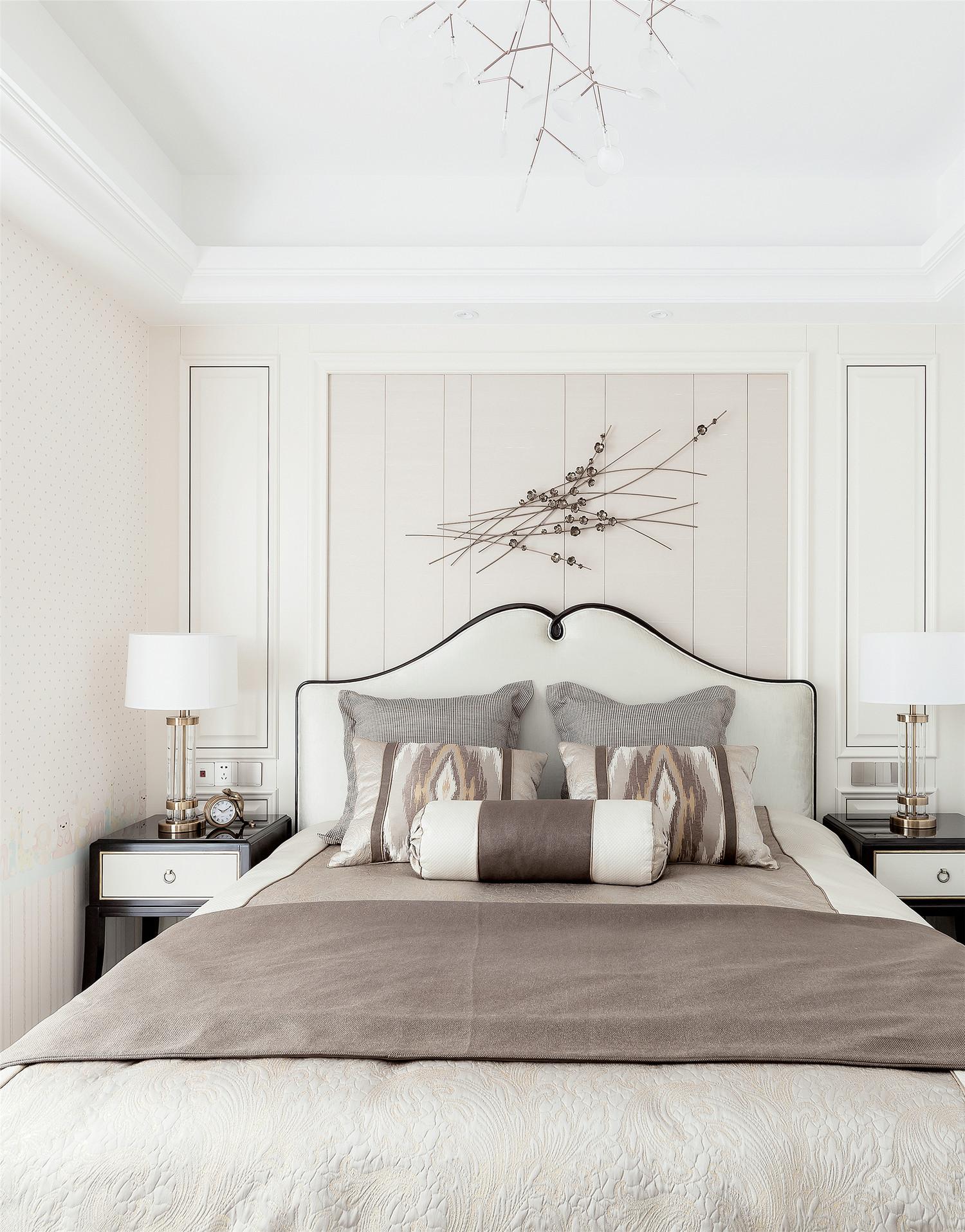 新古典美式风卧室装修效果图