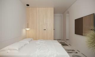 极简风格公寓卧室每日首存送20