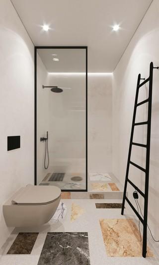 极简风格公寓卫生间每日首存送20
