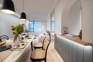 72平现代三居装修效果图