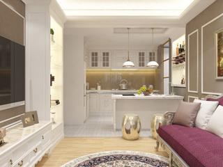 80平欧式风格厨房每日首存送20