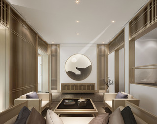 中式风格别墅客厅每日首存送20