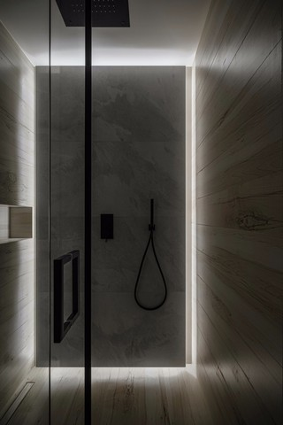 极简LOFT公寓卫生间装修效果图