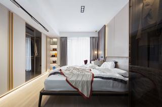 150㎡现代轻奢卧室装修效果图