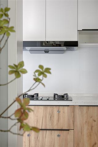 80平米日式风装修厨房特写