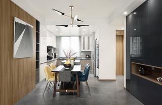148m²现代简约风餐厅每日首存送20