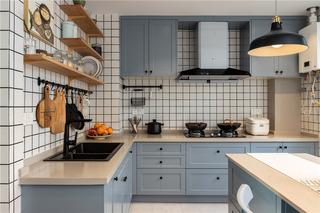 北欧风格三居室厨房装修效果图