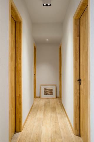 日式混搭风格走廊装修效果图