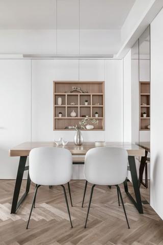现代日式两居餐厅装修效果图