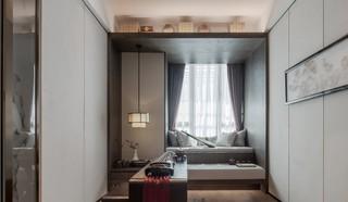 新中式风三居书房装修效果图