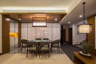 175m²新中式餐厅装修效果图