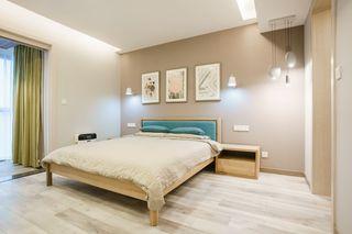 简约北欧三居卧室装修效果图