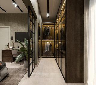 65平米公寓衣帽间装修效果图