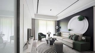 85平米三居室客厅装修效果图