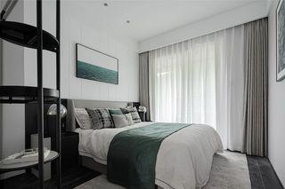 85平米三居卧室装修效果图