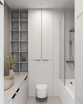 小户型极简公寓卫生间每日首存送20