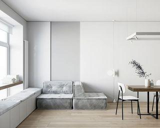 小户型极简公寓客厅每日首存送20