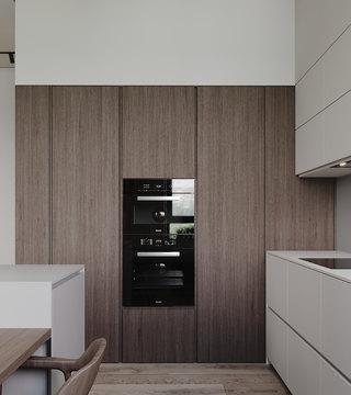 小户型简约公寓厨房装修效果图