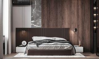 现代时尚公寓卧室每日首存送20