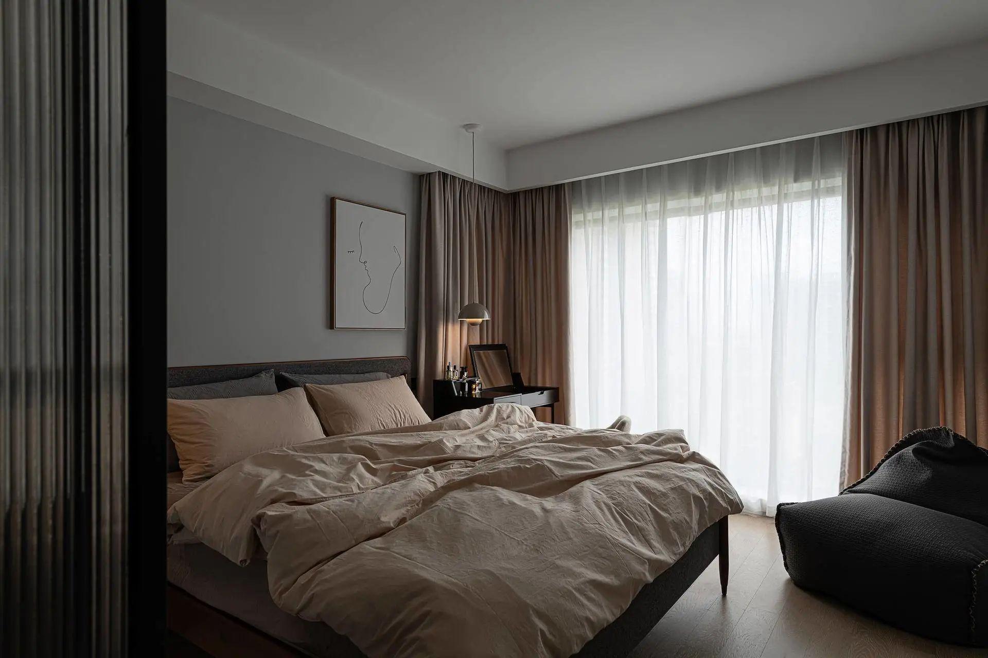 简约风两居卧室装修效果图
