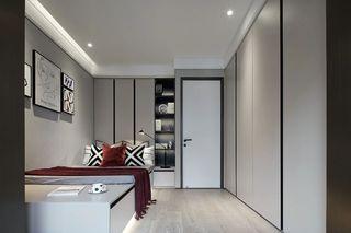 摩登现代风卧室装修效果图