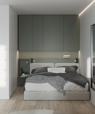 小户型一居卧室装修效果图