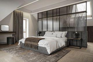 110m²现代轻奢卧室装修效果图