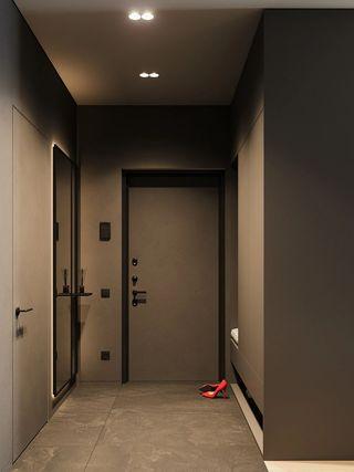 两居室公寓玄关装修效果图
