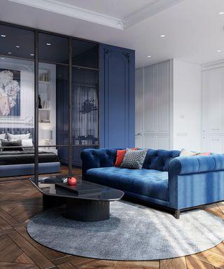 58平米公寓客厅装修效果图