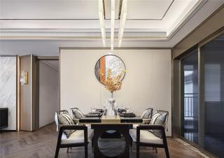 110m²新中式餐厅装修效果图