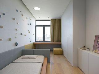 132m²极简风儿童房装修效果图